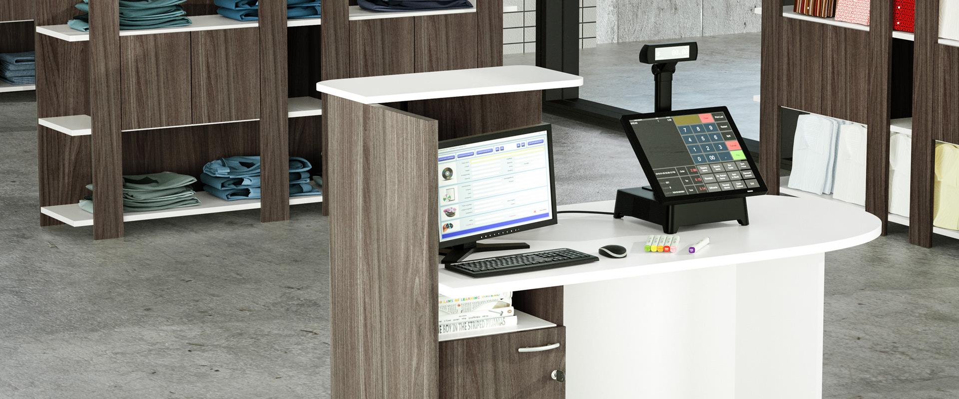 Artexport produzione mobili per ufficio librerie for Mobili per ufficio reception