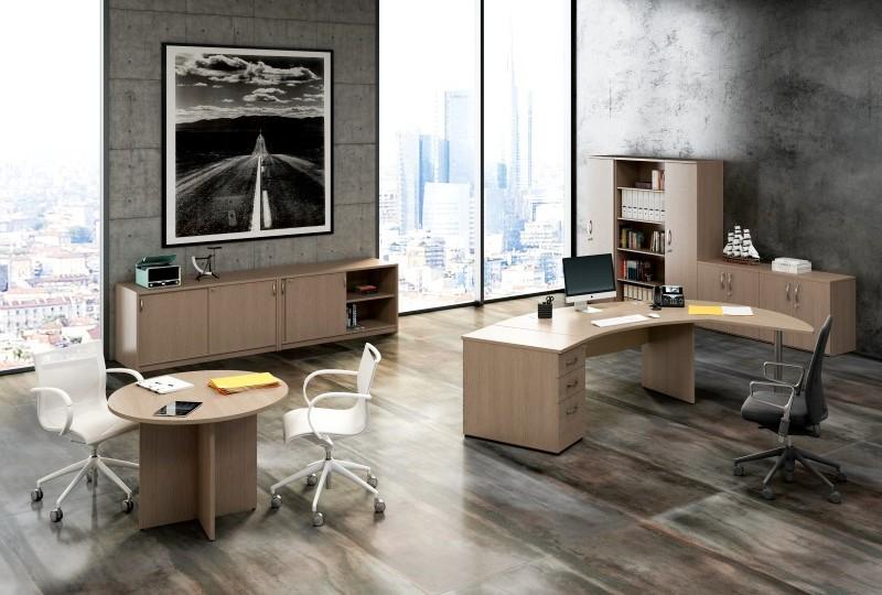 Ufficio Direzionale Bianco : Linea ufficio flex artexport