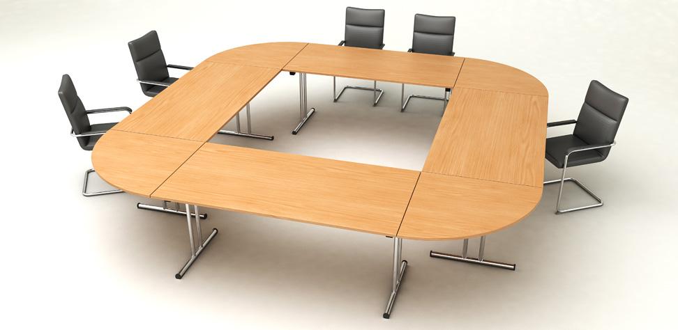 Tavolo Riunioni Rotondo.Tavoli Pieghevoli Fold Artexport
